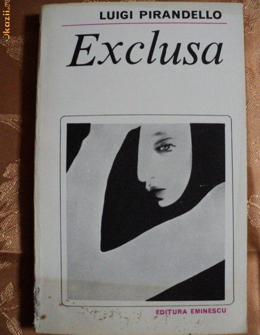 O carte intr-o zi – Exclusa, de Luigi Pirandello