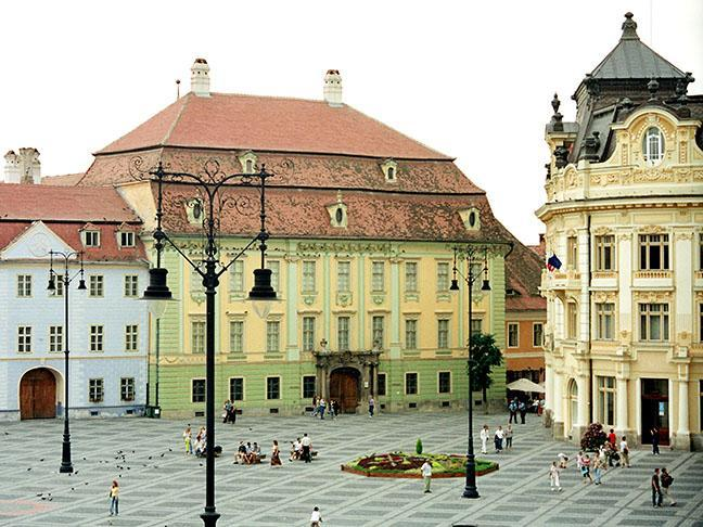 Fațada secundară a Palatului Brukenthal va fi reabilitată