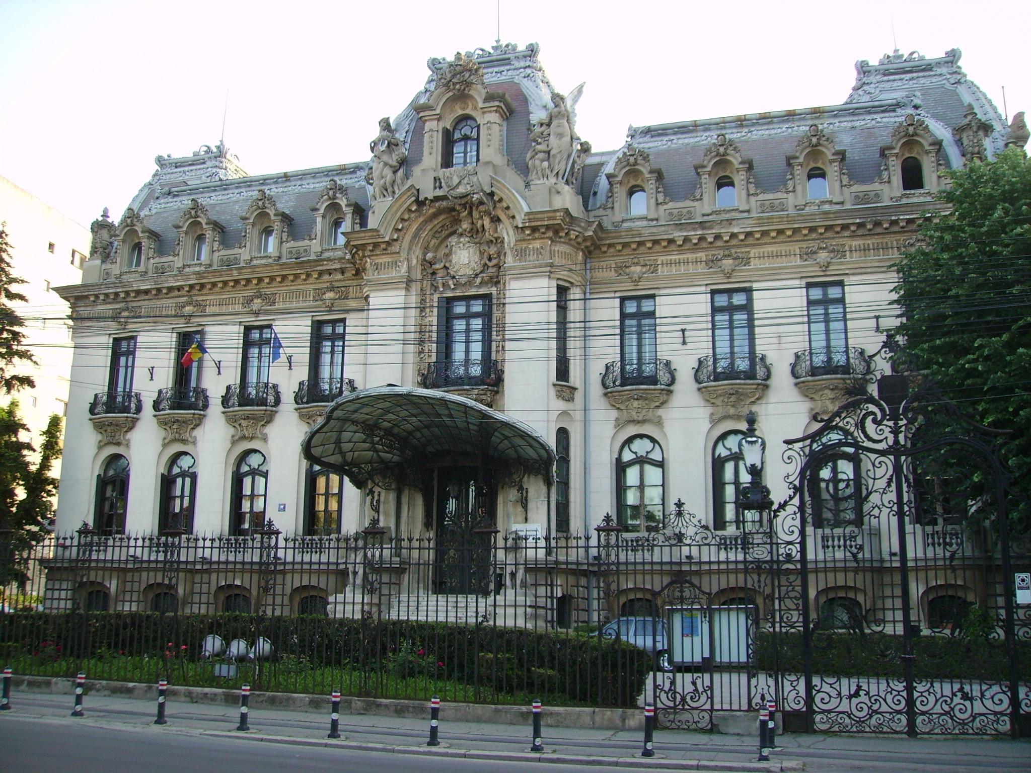 Ce legătură are George Enescu cu Palatul Cantacuzino