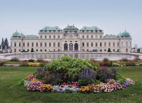 Belvedere-Palace-Vienna