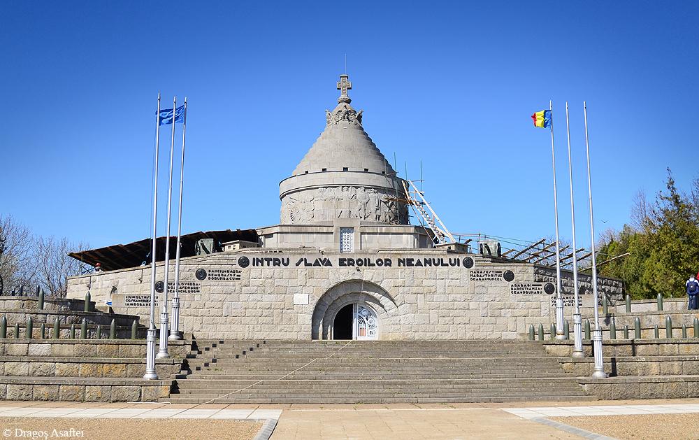 Mausoleul Eroilor de la Mărăşeşti, monumentul dedicat celor care au luptat în Războiul de Reîntregire a României din anul 1917