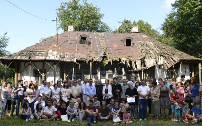 Casa lui Enescu de la Mihăileni, salvată în ultimul moment de un grup de arhitecţi voluntari
