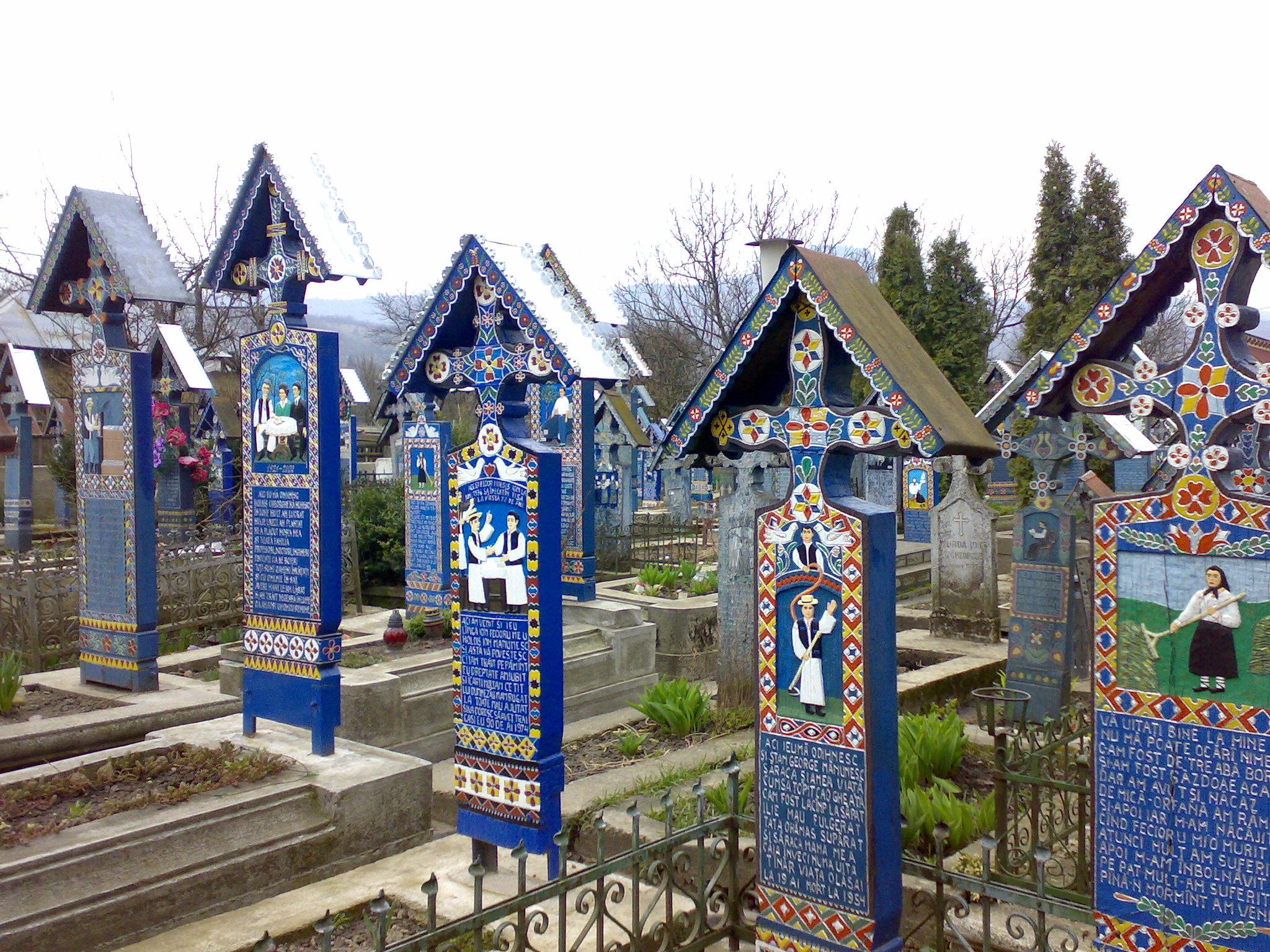 Cimitirul Vesel din Săpânţa, motor de promovare a turismului în Franța