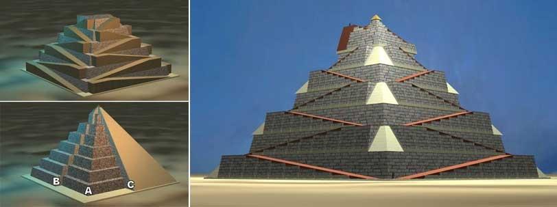 Secretul construcției piramidelor din Egipt, rezolvat de un poștaș francez?