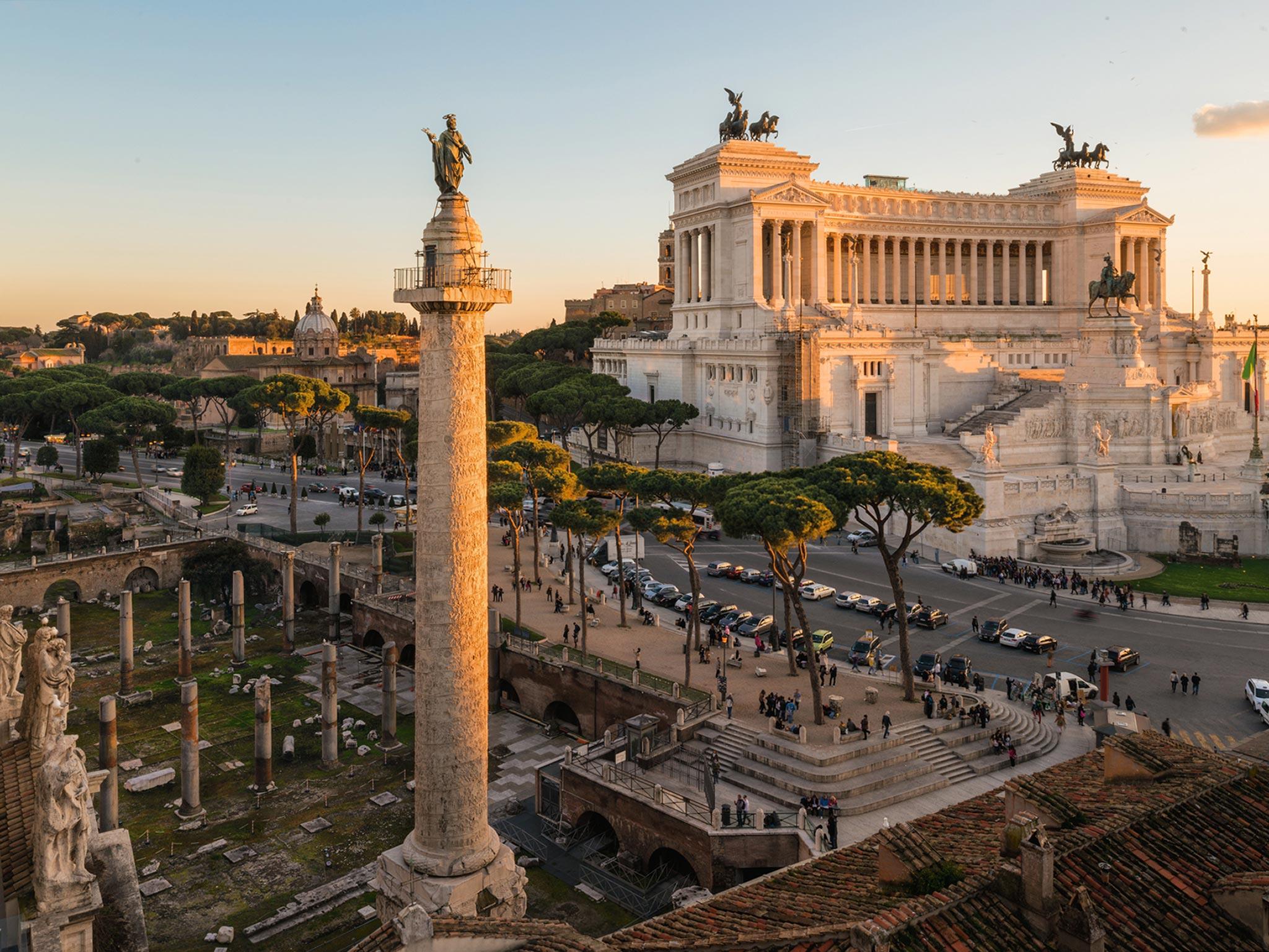 Un român implicat în procesul de digitizare a Columnei lui Traian