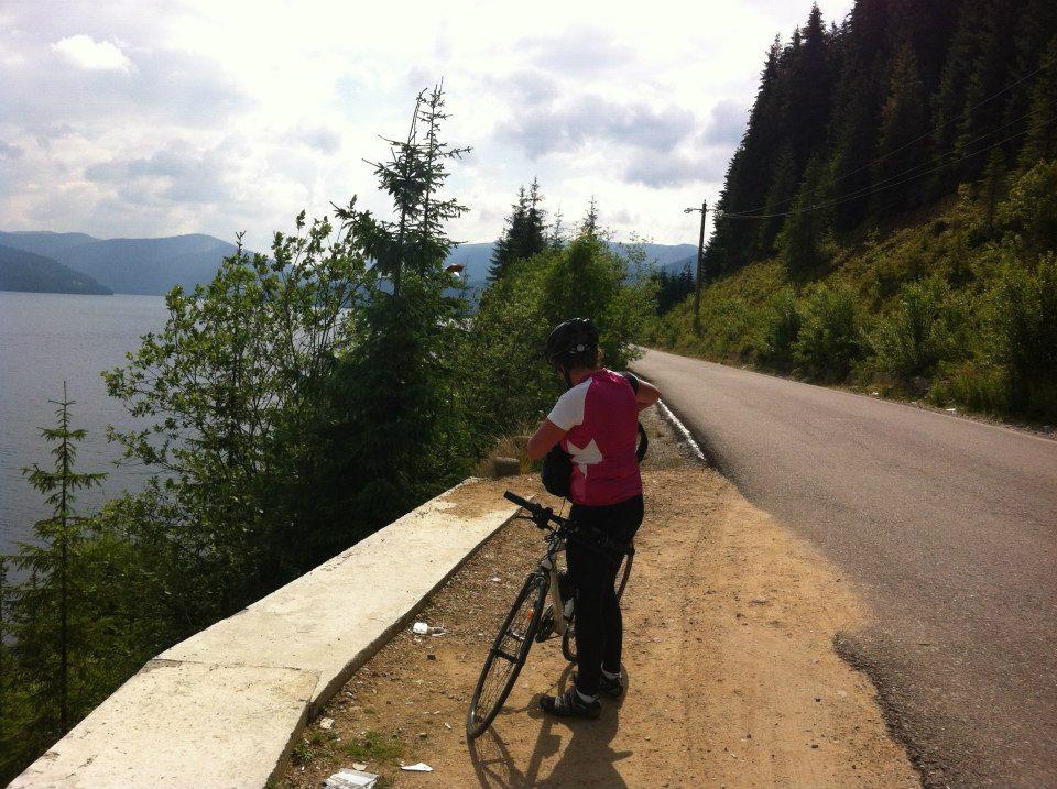 La Cazanele Dunării pe bicicletă