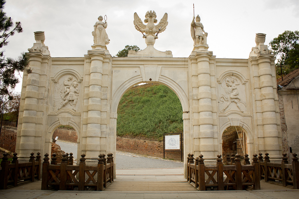 Cetatea Alba Carolina – un simbol al identitatii nationale