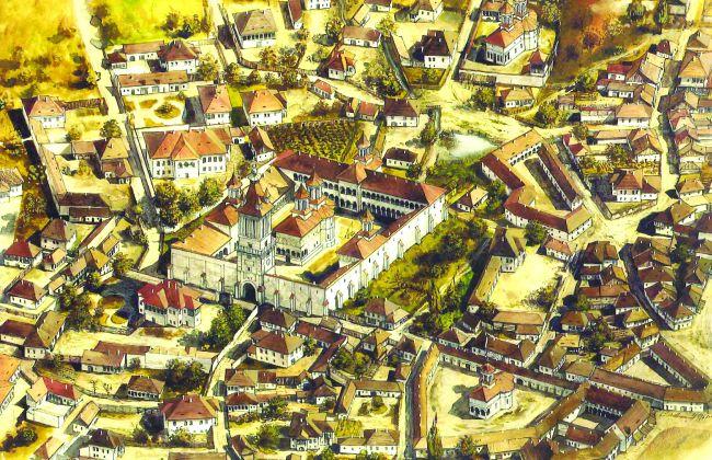 reconstituire a bucurestiului din zona coltea in secolul al XVIII