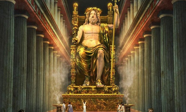 Statue-of-Zeus-at-mount-Olympia-91212249166