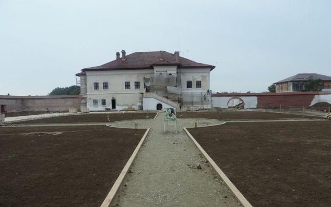 Reabilitarea Palatului Brâncovenesc se apropie de final
