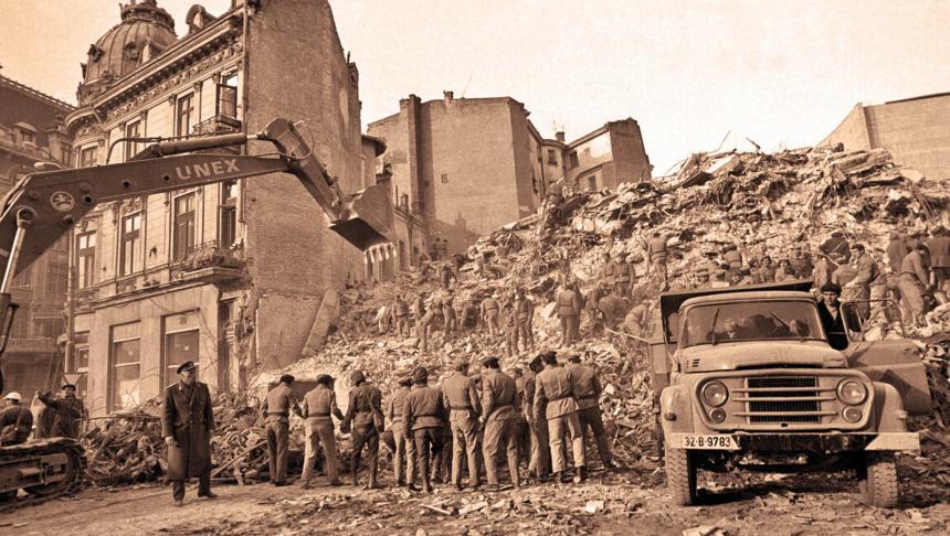 Cutremurul care a schimbat faţa Capitalei