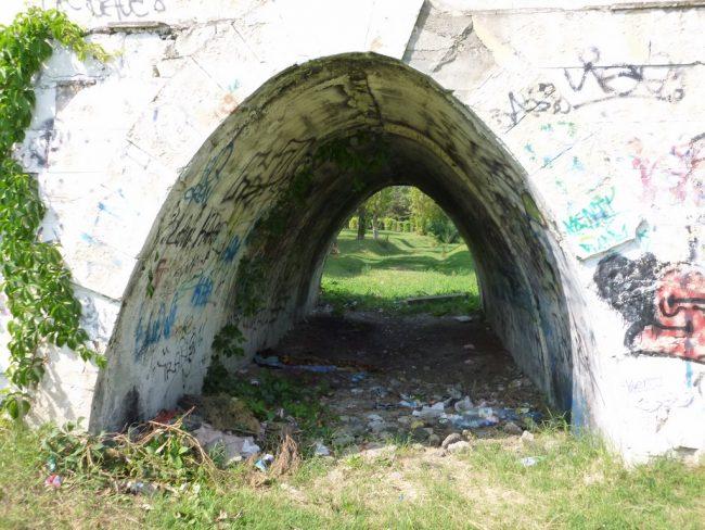 tunel abandonat