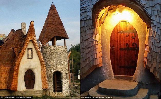 """Cum arată castelul de lut al """"vampirilor"""" din Transilvania"""