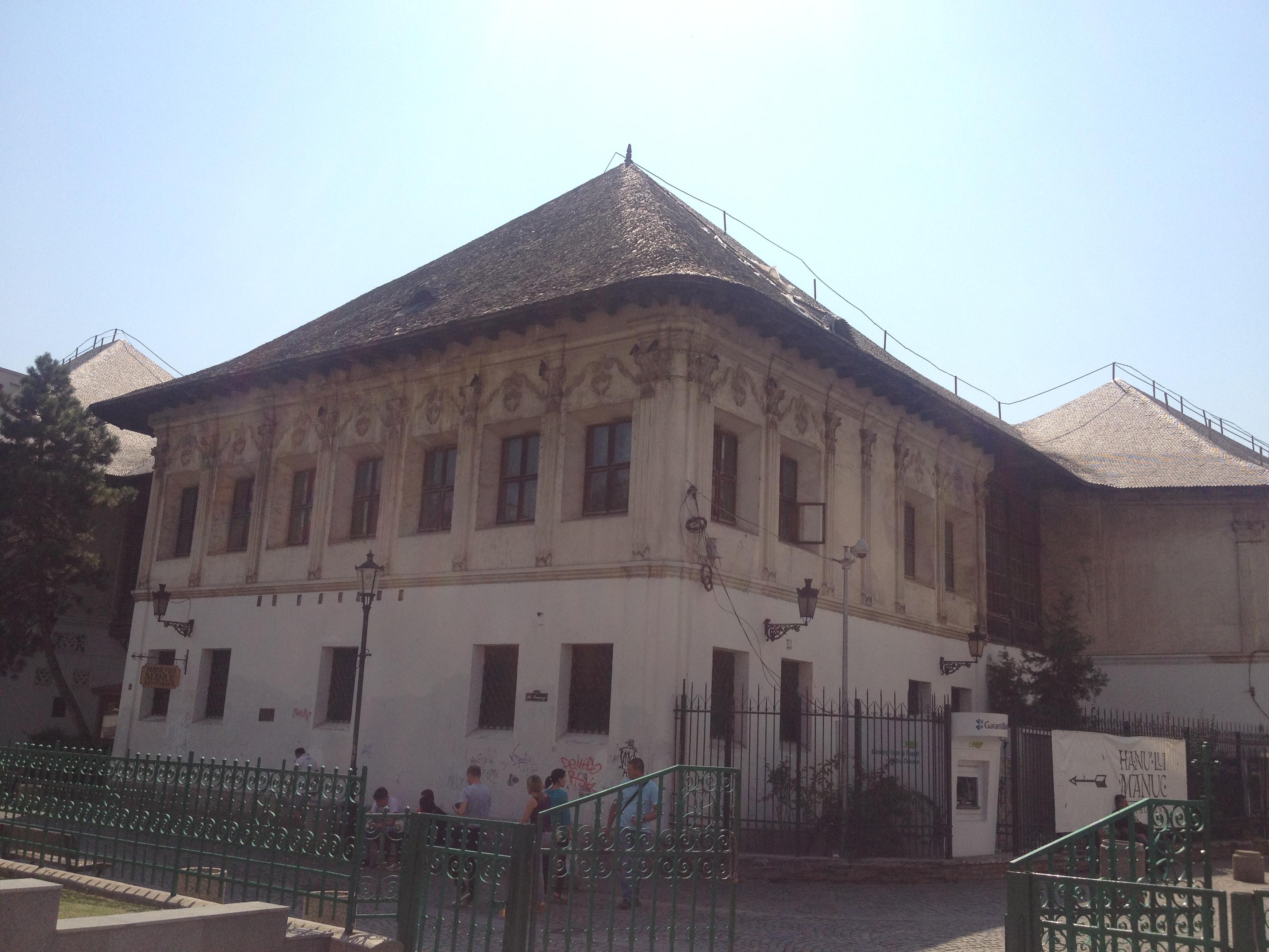 Hanul lui Manuc, de la hanul Curţii Domneşti la hanul turiştilor secolului XXI