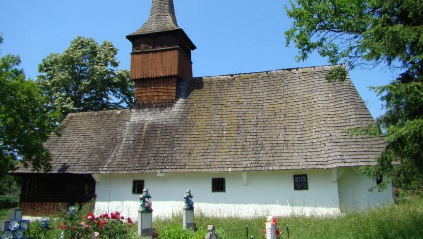 Biserica de lemn din Boz, restaurată în cele din urmă