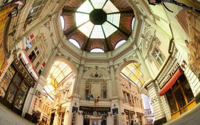 Pasajul Vilacrosse-Macca, o frântură de istorie din centru Capitalei