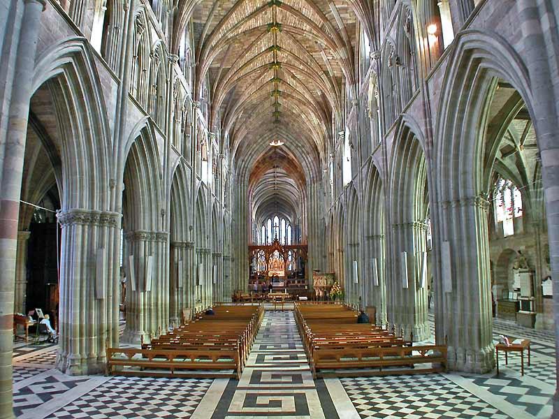 Catedrala anglicană Worcester – o bijuterie arhitecturală