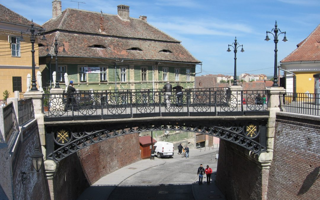 """""""Podul Minciunilor"""" din Sibiu şi legendele lui"""
