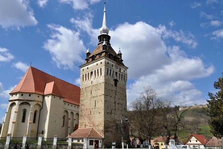 Biserica fortificată din Saschiz, restaurată cu fonduri europene