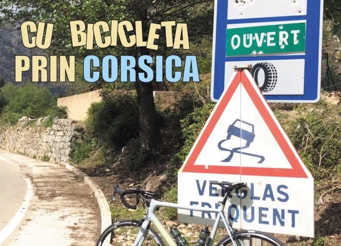 Cu bicicleta prin Corsica
