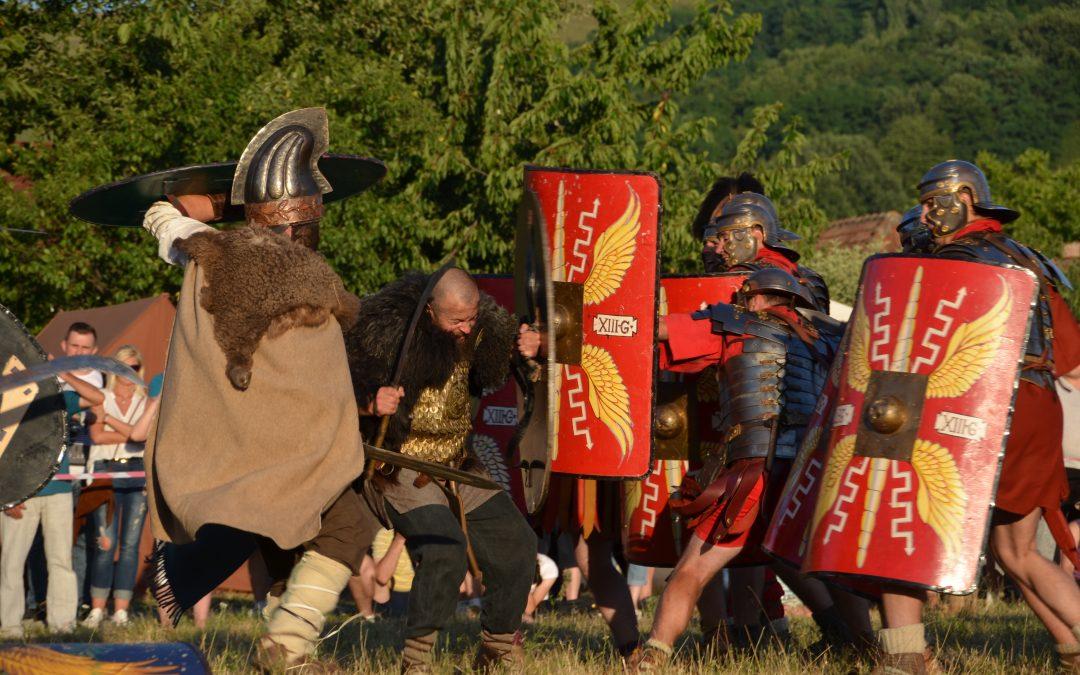 Cetatea dacică de la Căpâlna (Săsciori) descoperită prin obiectivul aparatului de fotografiat