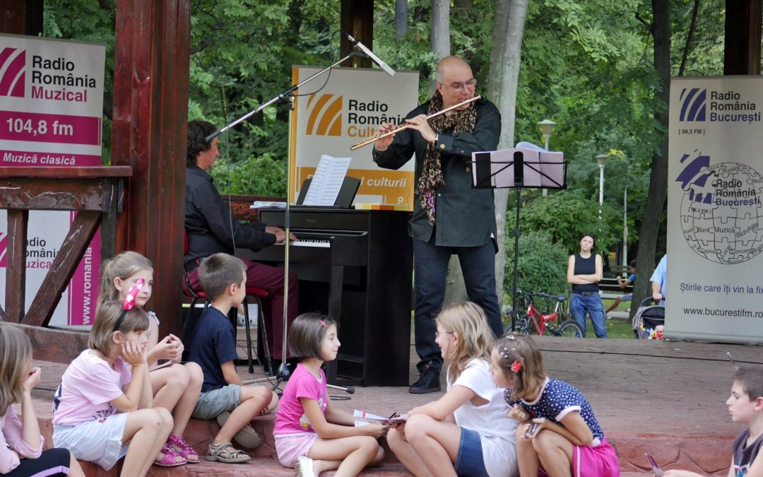 Street Art Muzical – Clasic VIP în parcurile bucureștene