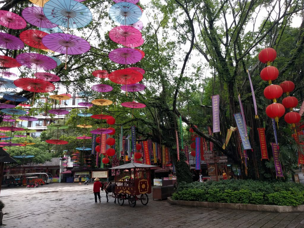 Parc folcloric in Shenzhen