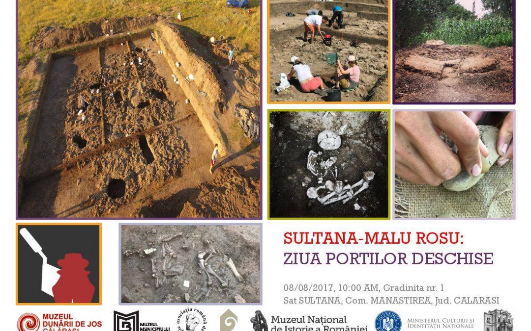 O privire din interior pe șantierul arheologic Sultana-Malu Roșu