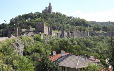 Cetatea Tsarevets, reședința statului Asăneștilor