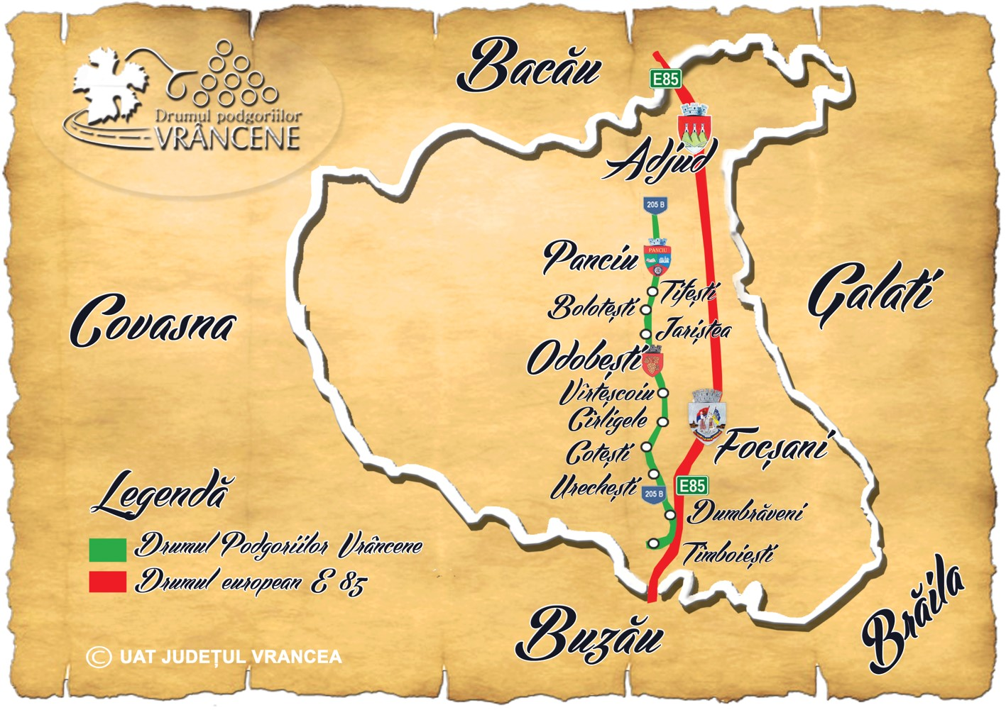 Drumul Vinului Vrancea Turism Istoric