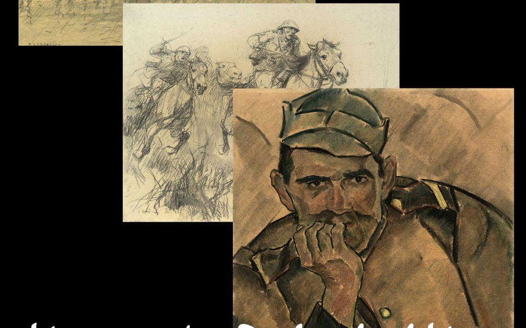 Conferință și expoziție-eveniment la Academia Română. Reflectarea realităților războiului în arte