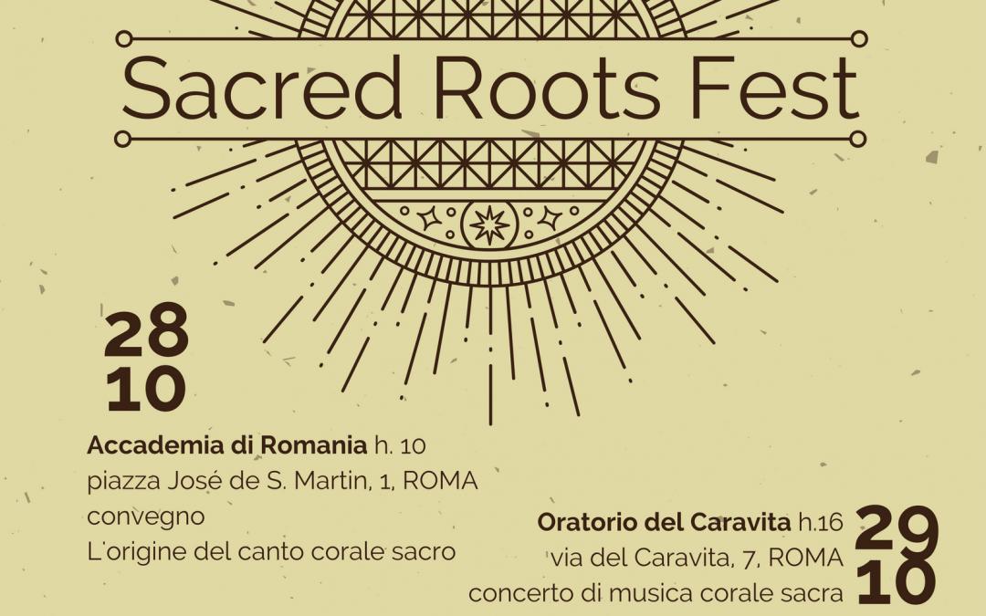"""Festivalul de Muzică Corală Sacră """"SACRED ROOTS FEST"""""""