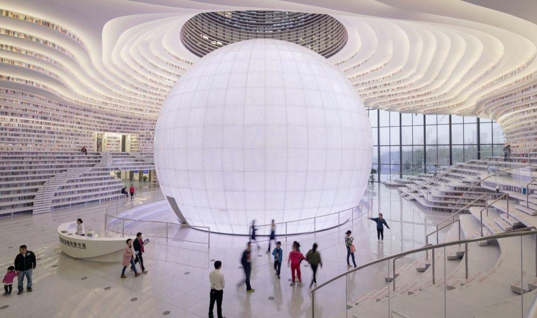 China a inaugurat una dintre cele mai futuriste biblioteci din lume / VIDEO