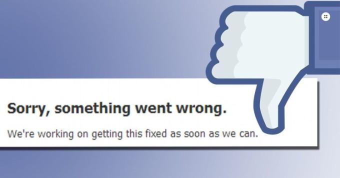 Facebook a căzut. Site-ul și aplicația, imposibil de accesat de utilizatori din toată lumea
