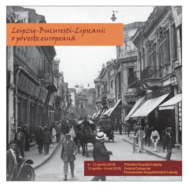 Leipzig-Bucuresti-Lipscani: o poveste europeana – expozitie si lansare de carte in Germania