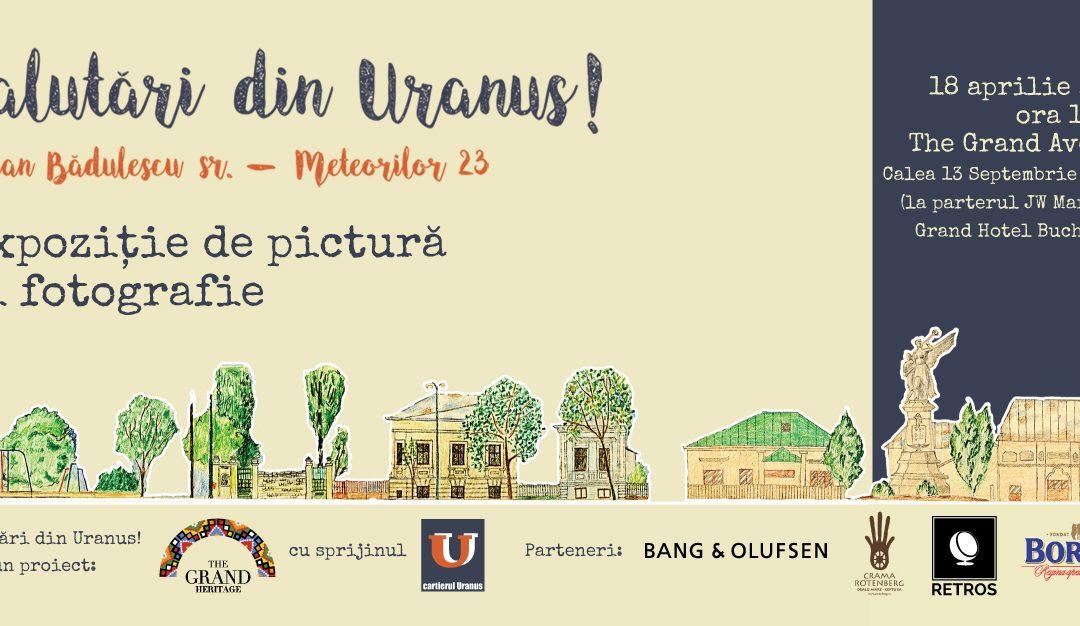 Salutări din Uranus!