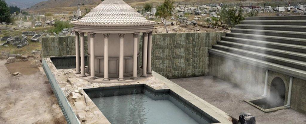 """Misterul """"porţii Iadului"""" folosite de romani: locul atrage milioane de turişti"""