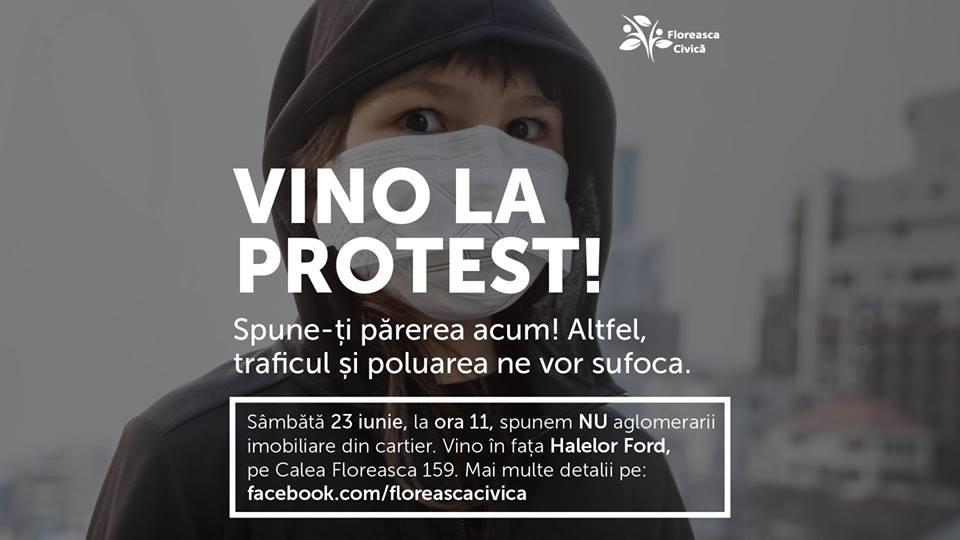 PROTEST PENTRU SALVAREA CARTIERULUI FLOREASCA
