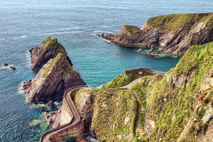 Traseul Dingle din Irlanda, o plimbare printre ruinele celtice