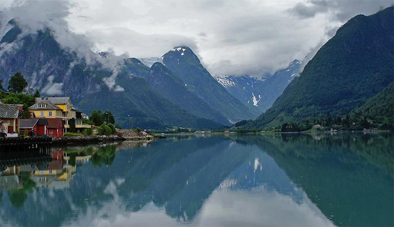 Fiordurile Norvegiei – un peisaj de basm