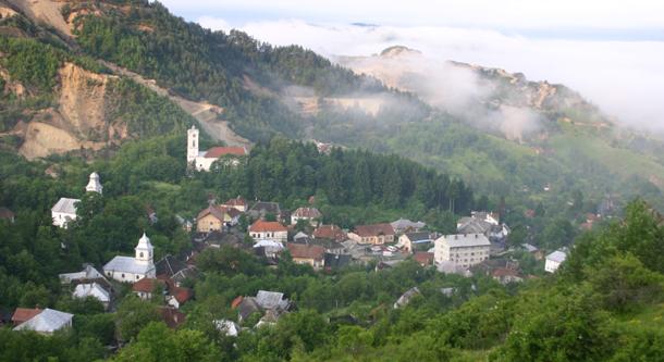 Roşia Montană, la un pas de includerea pe lista monumentelor UNESCO