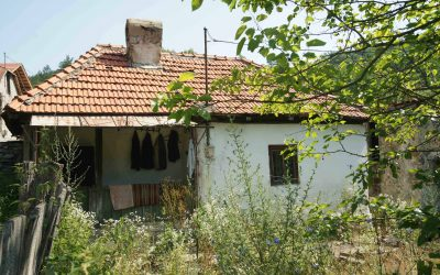 Tabăra de voluntari pentru reconstruirea unor case tradiționale