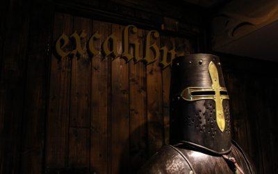 Excalibur- un portal spre lumea medievală
