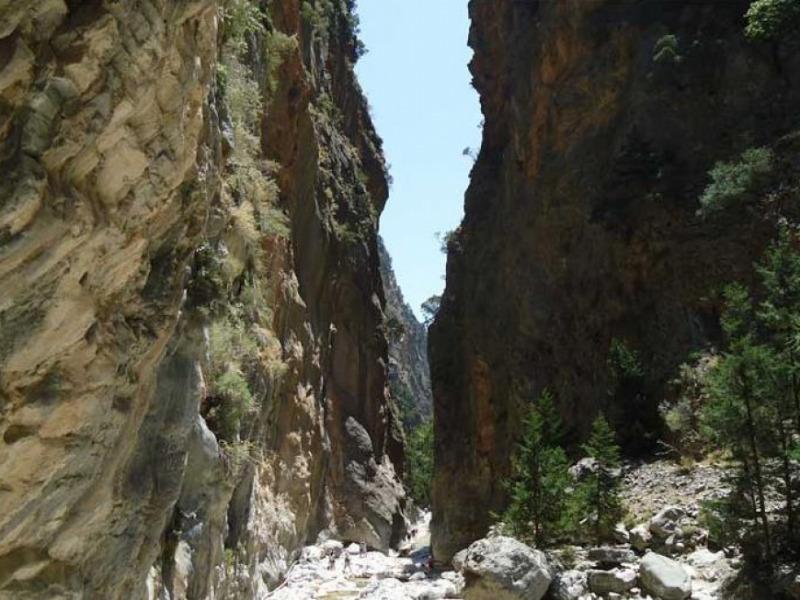 Un loc extrordinar în Creta – defileul Samaria