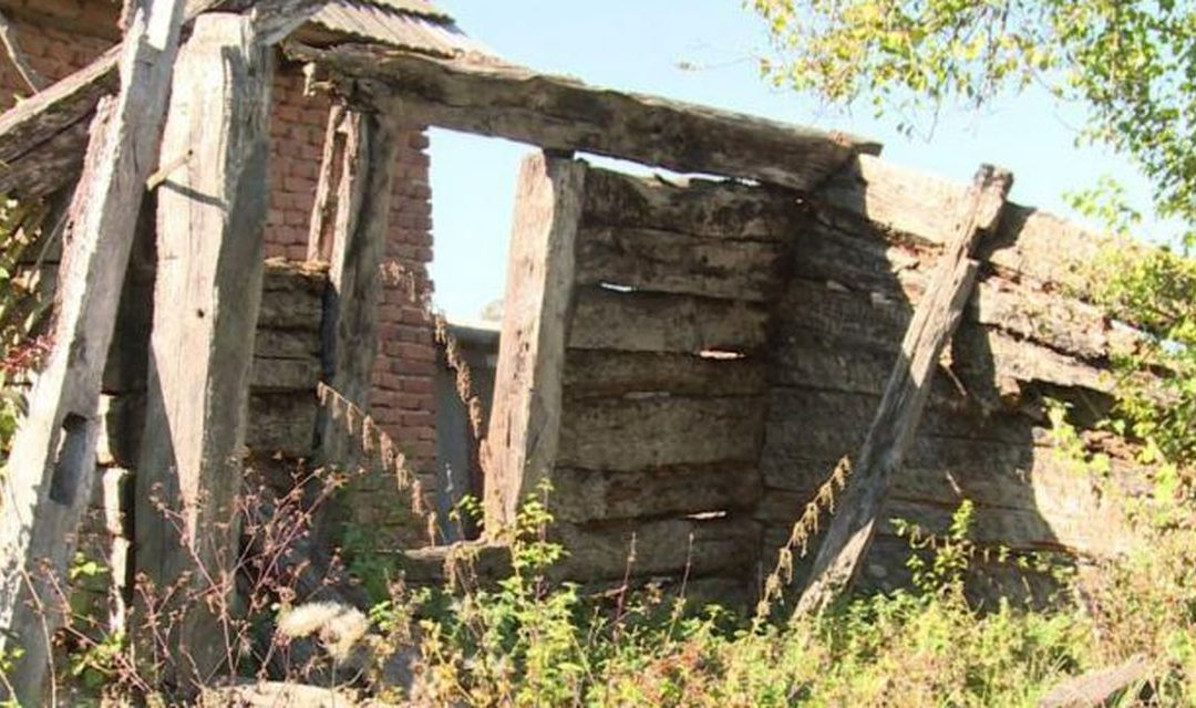 Casa în care a copilărit Constantin Brâncuşi s-a dărâmat