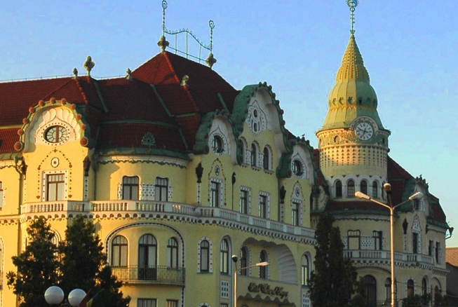 Oradea – alături de Budapesta și Barcelona în lista orașelor Art Nouveau