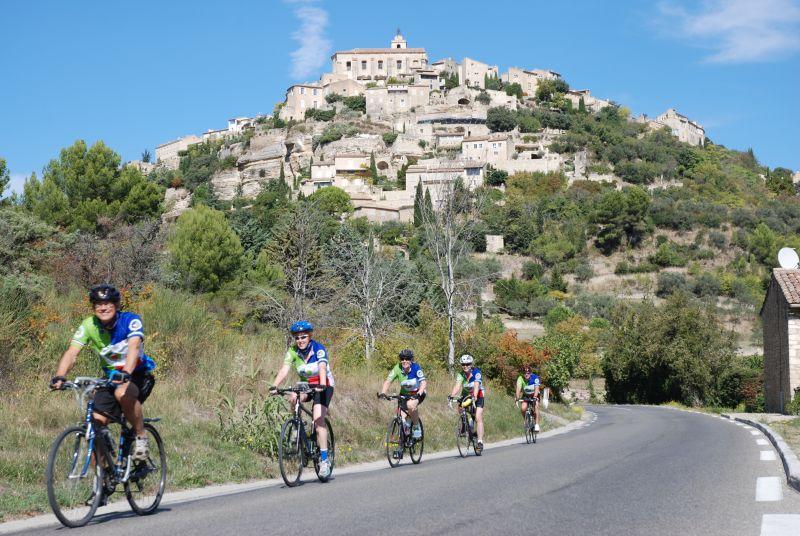 Cu bicicleta prin munții Lubéron