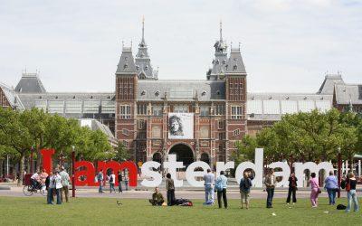 """Amsterdam a rămas fără celebrul simbol turistic """"I amsterdam"""". De ce?"""