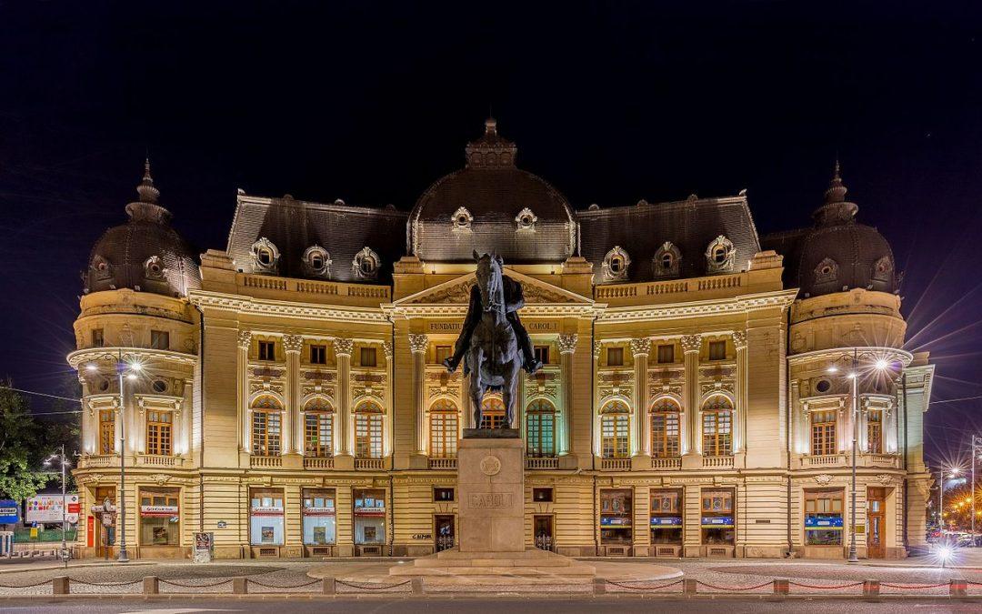 Biblioteca Central Universitară din București – un templu al culturii unde vorbeau Mircea Vulcănescu, Mihail Sebastian sau C. Noica