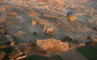 O călătorie cu balonul pe Nil